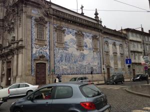 Igreja dos Carmelitas near the Praça de Gomes Teixeira.